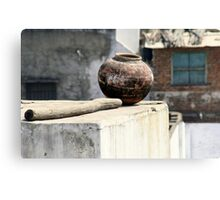 May your pots be filled with cheer and happiness  Canvas Print