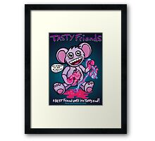 Tasty Friends Framed Print