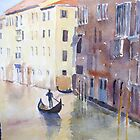A Venice Canal by HurstPainters