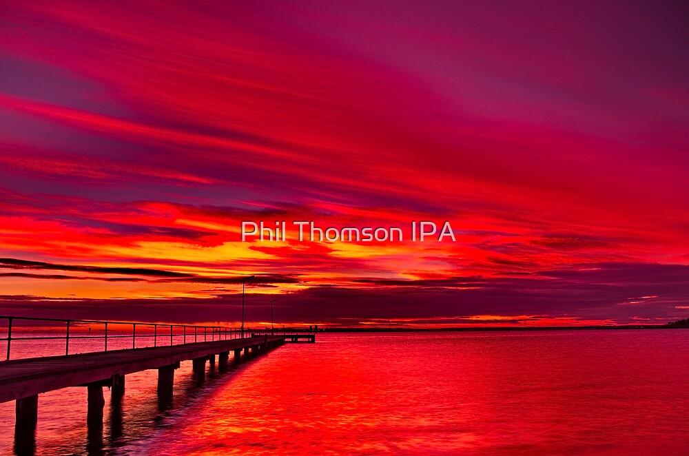 """""""Rippleside Dawn Roar"""" by Phil Thomson IPA"""