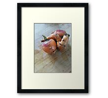 Left Out in the Cold Framed Print