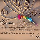 Rainbows and Butterflies from Heaven - Mother&#x27;s Day - Multiple Children by CarlyMarie