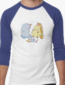 Wannabes Men's Baseball ¾ T-Shirt