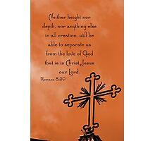 Roman Cross Photographic Print