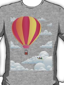 Picnic in a Balloon on a Cloud T-Shirt