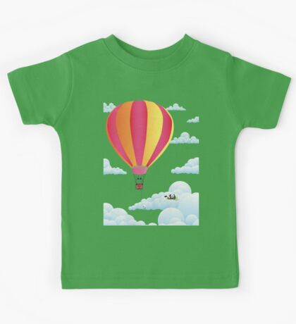 Picnic in a Balloon on a Cloud Kids Tee