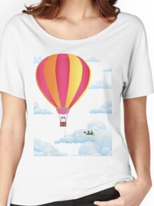 Picnic in a Balloon on a Cloud Women's Relaxed Fit T-Shirt