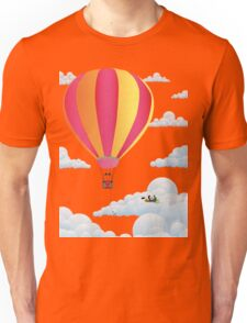 Picnic in a Balloon on a Cloud Unisex T-Shirt