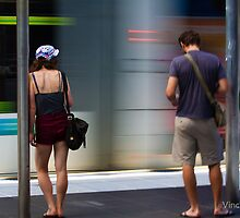 Commuters... by Vince Russell by Shot in the Heart of Melbourne, 2013