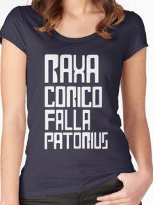 Raxacoricofallapatorius Women's Fitted Scoop T-Shirt