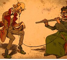 Dancing Cartoon by magmin