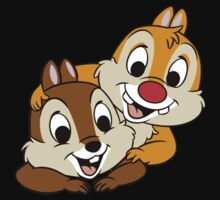 Funny Chip and Dale Baby Tee