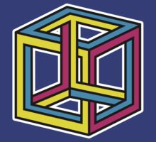 Cube Illusion by DetourShirts