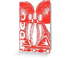 The Dude - The Big Lebowski Greeting Card