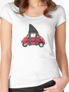 isetta shark Women's Fitted Scoop T-Shirt