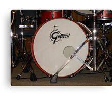 Gretsch Drum Canvas Print