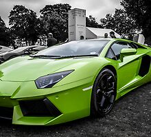 Lamborghini Aventador by Matt Malloy