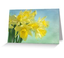spring cheerfulness Greeting Card