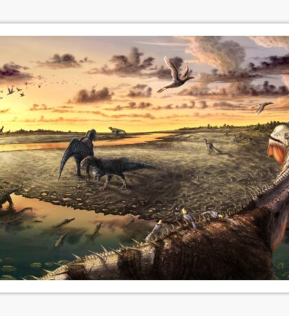 Mill Canyon Dinosaur Tracksite Leggings, Shirts, & more!! Sticker