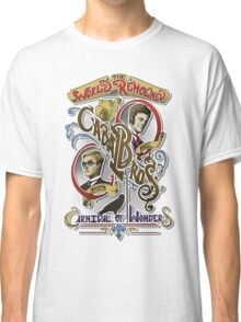 The World Renowned Cabal Bros Carnival of Wonders Classic T-Shirt