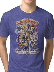 The World Renowned Cabal Bros Carnival of Wonders Tri-blend T-Shirt