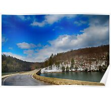 Allegheny River Crossing Poster