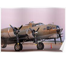 B-17 - A Flying Fortress Poster
