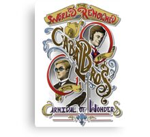 The World Renowned Cabal Bros Carnival of Wonders Canvas Print
