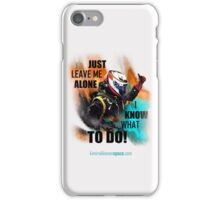 Just Leave Me Alone! iPhone Cover - Kimi Raikkonen iPhone Case/Skin