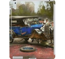 Car Accident - It came out of nowhere 1926 iPad Case/Skin