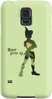 Never Grow Up Green by MargaHG