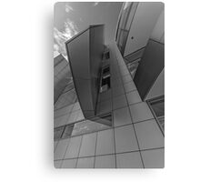 Abtract number 10 black and white Canvas Print
