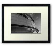 Abstract number 12 Black and White Framed Print
