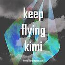 Keep Flying Kimi - iPhone Cover - Kimi Raikkonen by evenstarsaima