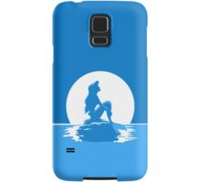 The Little Mermaid Blue Samsung Galaxy Case/Skin