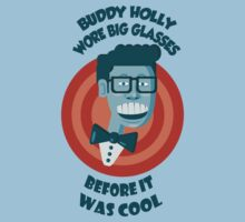 Buddy Holly wore big glasses before it was cool by Bloodysender