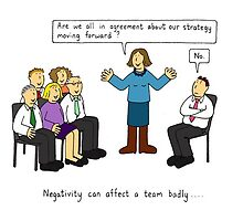 Negativity at work. by KateTaylor