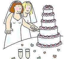 Lesbian brides. by KateTaylor