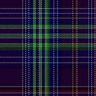 01305 Hebridean of Seattle Fashion Tartan Fabric Print Iphone Case by Detnecs2013