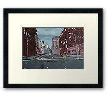 5th Avenue at 5am Framed Print