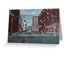 5th Avenue at 5am Greeting Card