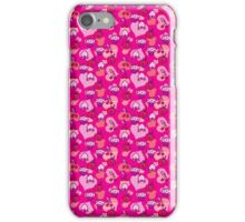 Fruit and Pastry Pink Pattern iPhone Case/Skin