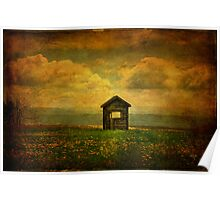 Field of Dandelions Poster