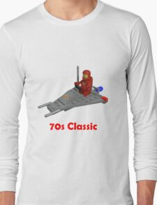 70s Classic Space Lego Long Sleeve T-Shirt