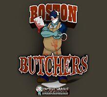 Zombie League Baseball - Boston Butchers Unisex T-Shirt