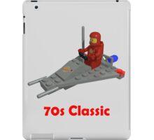 70s Classic Space Lego iPad Case/Skin