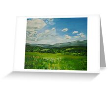 Brattleboro, VT, Mountain View  Greeting Card