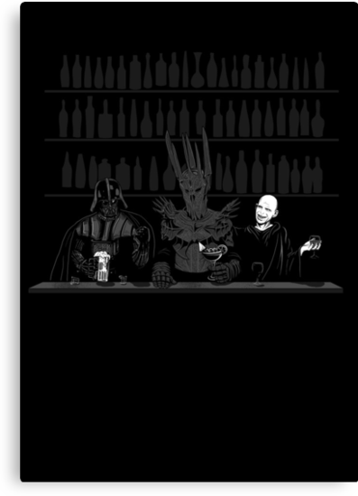 Dark Lord Happy Hour by spacemonkeydr