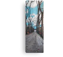 Chateau Road  Canvas Print