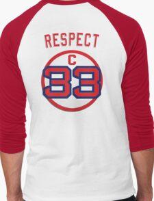 RESPECT 33 C Men's Baseball ¾ T-Shirt